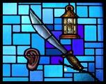 Ear sword lantern